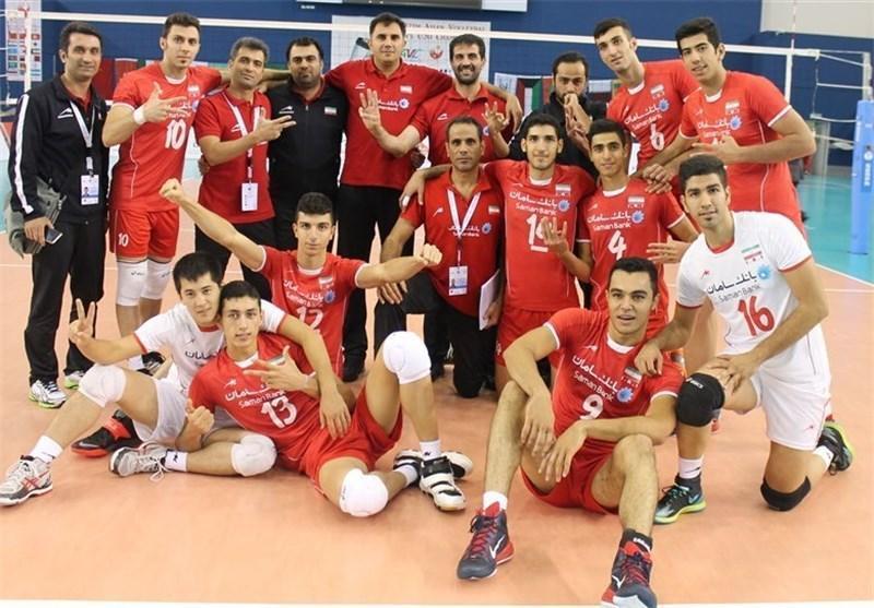 تیم والیبال جوانان ایران به نیمه نهایی رسید، شاگردان نفرزاده جهانی شدند