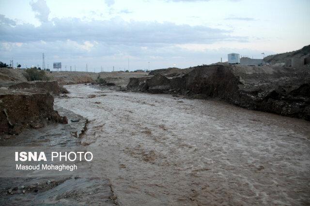 محور دلگان به زهکلوت رودبار جنوب مسدود شد