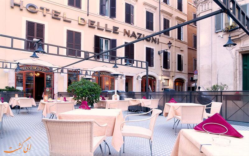 معرفی هتل 4 ستاره دله نازیونی در رم