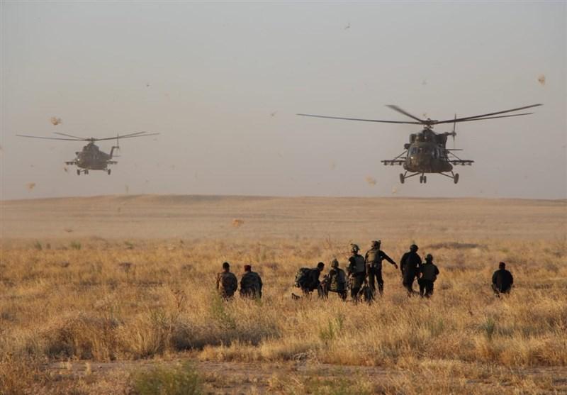 انهدام مخفیگاه داعش در استان صلاح الدین عراق