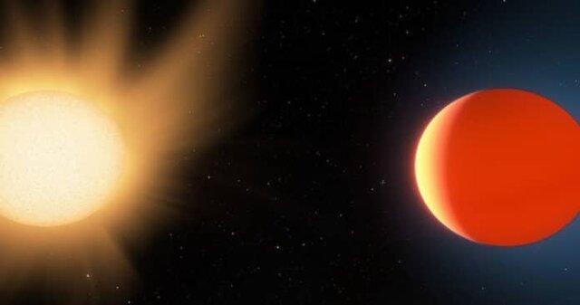 مطالعه جو سیاره فراخورشیدی نپتون داغ