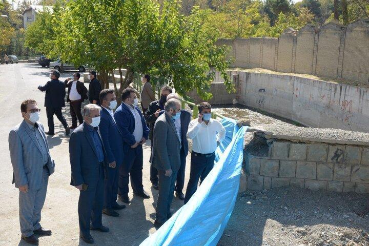 195 هزار متر طول مسیل های شمال تهران لایروبی شدند