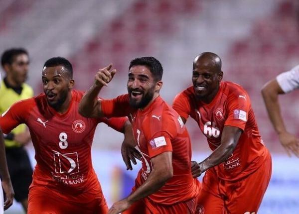 پیروزی العربی در شب گلزنی مهرداد محمدی